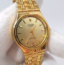 CITIZEN, All Gold on Gold, Gold Band, Face, Dial, Super Classy, Men's WATCH 2001
