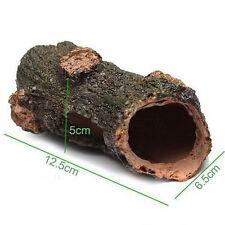 Aquarium résine creux tronc d'arbre ornement