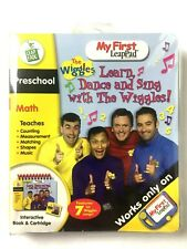 Leap Frog Preschool My First LeapPad The Wiggles Interactive Book and Cartridge