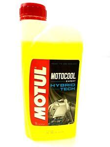 Motul Motocool Expert Motorcycle Coolant Antifreeze - Ready To Use - 1 Litre 1L