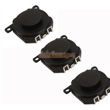 3x Analog Joystick Stick Button for Sony PSP 1000 1001 Black US Free Shipping