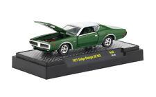 L183 32600 46 M2 MACHINES DETROIT MUSCLE 1971 Dodge Charger SE 383 1:64 GREEN