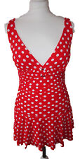 NUOVA linea donna Marks & Spencer Dimagranti Red Secret Costume Da Bagno Taglia 12 RP £ 39.50
