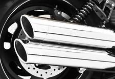 FREEDOM ROLLED EDGE SLIP-ON CHROME W/CHROME TIP HD00335 MC Harley-Davidson