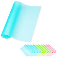 6PCS Refrigerator Pads Liner Shelves Antiskid Washable Easy Clean Mat Drawer Mat