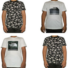 The North Face Kids Boys T Shirt T-Shirt Tee Casual Cotton TShirt Tops Size Age