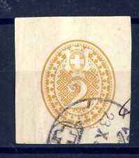 SVIZZERA  - 1874 - FRAMMENTO - Prepagato per involucri. Cifra in ovale. E3750