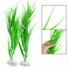 Aquarium Green Plastic Grass Plant x1 Decoration £2.09 24HR DISPATCH UK ITEM (A1