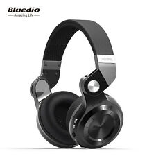 Bluedio T2 Plus Turbine Wireless Bluetooth Headphones with Mic Micro SD Card Slot