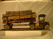 G scale Logging Truck - custom built in my diorama shop with Lumber Jack