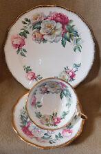 "Royal Standard Vintage Tea Cup and Saucer ""Irish Elegance"" Trio set"