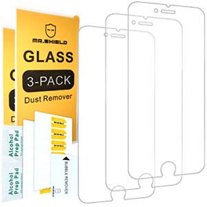 [3 Pack] iPhone 6S / 6 Screen Protector Nearpow [Tempered Glass] Screen Prote...