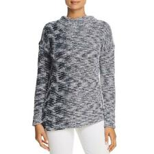 Nic + Zoe Womens Coming Along  Marled Mock Neck Pullover Sweater Top BHFO 9268