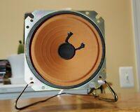 Pair Vintage audiophile speakers High Frequency tweeters wide angle closed body.