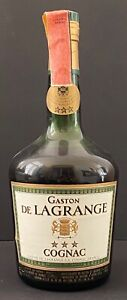 Cognac GASTON DE LAGRANGE *** - 75 cl 40° - anni '70 - VINTAGE