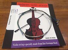 qualité MAILLECHORT cordes pour violon 1/4 1/2 3/4 4/4 12.95 fabriqué en Inde