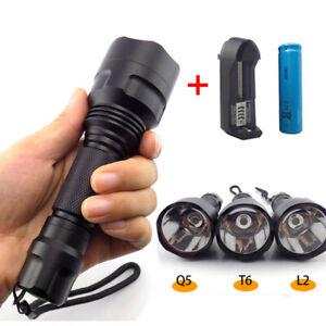Bright Tactical L2 T6 Q5 Led Flashlight Torch Linterna 18650 Flash Light lamp