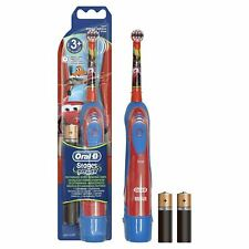 Braun Oral-B Advance Power Kids Battery Toothbrush + Timer - Disney Cars Edition