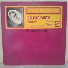 "Yves Deruyter–Calling Earth (2 x Vinyl 12"" Maxi 33 Tours)"