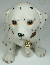Puppy Figurine w Bell Dalmation DOGPUP8 Poly Resin NEW in Box *****LAST ONE*****