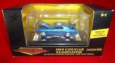 1969 Cougar Eliminator 1:64 Diecast PLACTIC DISPLAY CASE AMERICAN MUSCLE ERTL