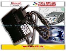 Super Nintendo SNES fuente de alimentación transformador cable adaptador para consola de juegos consola nuevo