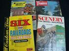 4 Vintage Model Train Magazines 2-1978, 1-1976 & 1-1971 in Very Good Condition