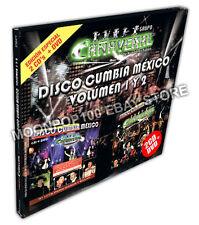 Grupo Canaveral Disco Cumbia Mexico Vol1 & 2 Edicion Especial 2CD + DVD NEW