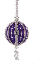 The Cracker Box Diamond Jubilee Purple Christmas Ornament Kit