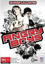 ANGRY BOYS    DVD   3-DvD SET  (Region 4)