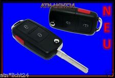 VW Golf 4 IV Passat  3B Bora Schlüssel Klappschlüssel Funkfernbedienung Panic 2T