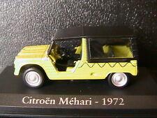 CITROEN MEHARI 1972 BACHEE VERT CLAIR RBA COLLECTABLES 1/43 LIGHT GREEN BLACK