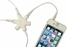 Soundlab 5 Way Audio Music Splitter for Mobile iPod, iPhone, iPad & MP3 Players