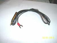 Technics turntable ground wire Silver .  Please read description.