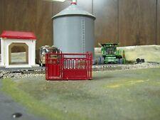 1/64 Custom Scratch-Cast Cattle Headgate - Red