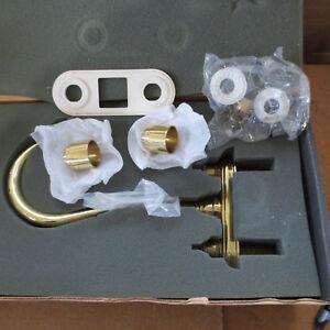 Delta 6415-PBBLHP 2 handle Bar Faucet trim LESS handles