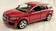 "RMZ City - 5"" Scale Model Audi Q7 V12 Red (BBUF555016R)"
