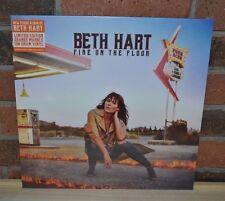 BETH HART - Fire on the Floor, Ltd 1st Press 180Gr ORANGE VINYL + Download NEW!