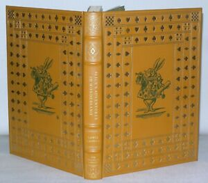 Alice In Wonderland - Lewis Carroll  - Franklin Library -1975 Leather Binding HB