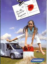 On the road to happiness Chausson motor home caravan album 2009 Fiat Ford 43page
