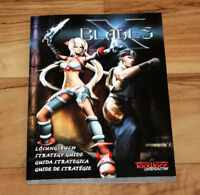 X-Blades Official Strategy Guide Xbox 360 Playstation 3 PS3 PC