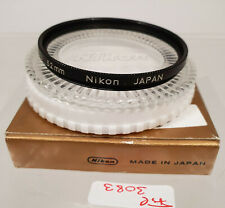Original Nikon L37c UV Objektiv Filter Lens E52 52 52mm Japan AD3083