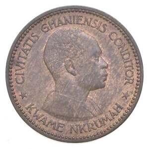Better Date - 1958 Ghana 1 Penny *580