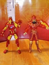 "Marvel Universe 3.75"" MANDARIN & Ironman Loose Action Figure lot Hasbro 2012"