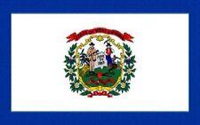 Miniflag West Virginia 10 x 15 cm Fahne Flagge Miniflagge