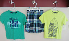 Gymboree, Boys Size 8, Surf Themed 3-Pieces Everyday Outfit, Vguc!