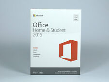Microsoft Office Home & Student 2016 - für MAC - DE/EN/FR + Multilingual - PKC