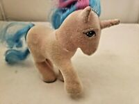 My Little Pony - G1 - So Soft NICE AND FUZZY - Buttons The Unicorn - R33