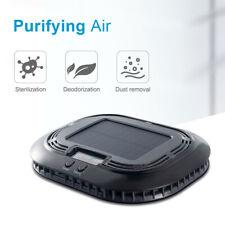 Black Portable Car Home Air Purifier With Heap Filter Truck Air Cleaner Diffuser