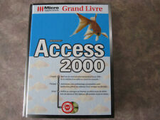 Microsoft - Access 2000 - Grand Livre: Micro applications  - français